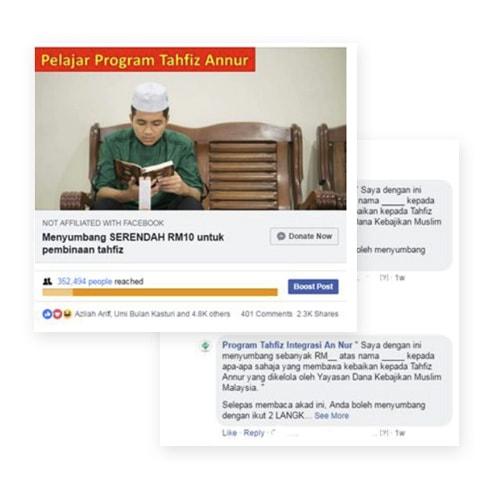 Crowdfunding: Program Tahfiz An Nur