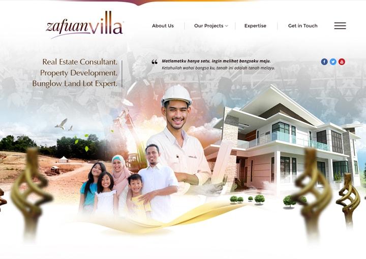 Zafuan Villa : Real Estate Consultant. Property Development. Bunglow Land Expert.